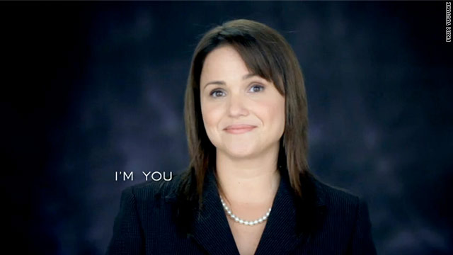 An ad from Christine O'Donnell, the Tea Party favorite running for Senate in Delaware, tries to relate to the viewer.