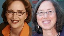 Sara K. Gould, left, and Susan Wefald