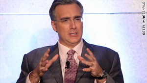MSNBC's Keith Olbermann was suspended on Friday for contributing to political candidates.