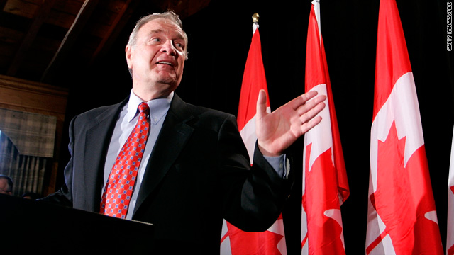 Paul Martin, former Canadian prime minister and finance minister, presided over elimination of the nation's deficit in the 1990s.