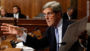 Sen John Kerry, D-Massachusetts, had requested a visit in December, Iran's semi-official Fars news agency says.