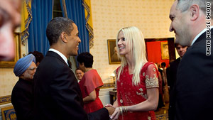 The Secret Service reports a third uninvited guest at a White House state dinner crashed by Tareq and Michaele Salahi.