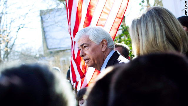 Sen. Chris Dodd will retire at the end of this term.