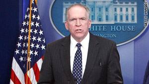 Deputy National Security Adviser John Brennan briefed reporters Thursday on the terror report.