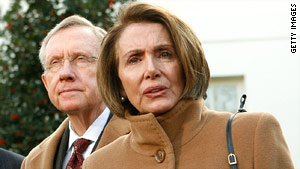 Senate Majority Leader Harry Reid and House Speaker Nancy Pelosi face a tough health care reform challenge.