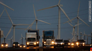 Press Secretary Robert Gibbs cited a 39 percent increase in the number of wind plants over the past year.