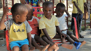 Dr. Aronson's WWO works with orphanages abroad to ensure children have adequate medical care.