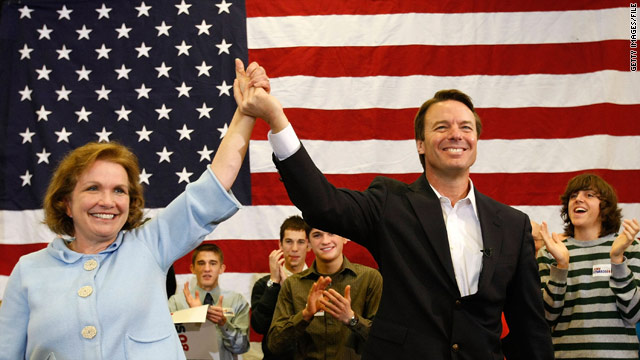 Elizabeth and John Edwards, on the campaign trail in January 2008 in  Ames, Iowa, are separating, says a source close to her.