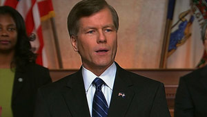 Virginia Gov. Bob McDonnell gave the GOP response to President Obama's State of the Union speech.