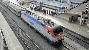 President Obama wants the United States to have its own high-speed rail system like this one in South Korea.