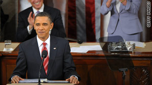 Blair's State of the Union address included a pledge to listen to the American people.