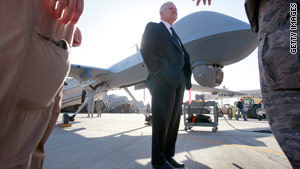 Under Defense Secretary Robert Gates, the Pentagon is building up its fleet of unmanned aerial vehicles.