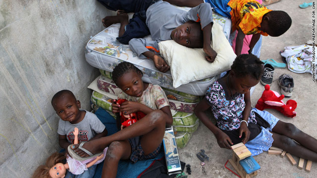 The U.S. State Department is increasing funds available to combat child trafficking in Haiti, where children are at risk.