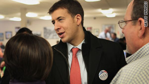 Illinois state Treasurer Alexi Giannoulias comes out on top as the Democratic candidate in the U.S. Senate race.