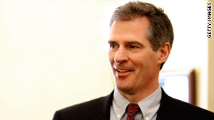 Scott Brown defeated Demcrat Martha Coakley for the late Sen. Ted Kennedy's Senate seat.