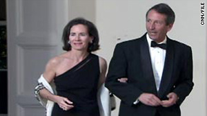 Jenny Sanford announced in December that she will divorce S.C. Gov. Mark Sanford.