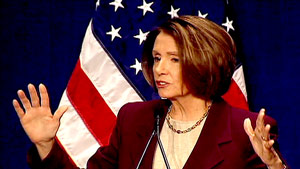 House Speaker Nancy Pelosi wants to calm the fears of Democrats nervous after a string of election losses.