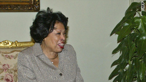 Rep. Diane Watson's California district went overwhelmingly for Barack Obama in the 2008 presidential election.