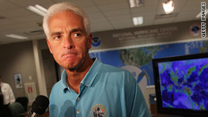 Florida Gov. Charlie Crist is running for the U.S. Senate seat being vacated by Mel Martinez.