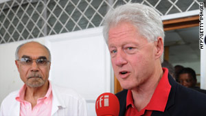 Clinton's hospitalization comes more than five years after he underwent quadruple bypass surgery.
