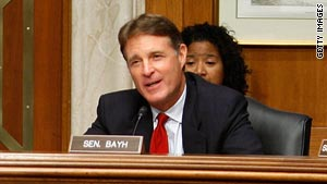 """We've got a lot of good people in Congress, but they're trapped in a dysfunctional system,"" Sen. Evan Bayh says."