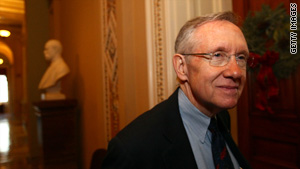Some Democrats asked Senate Majority Leader Harry Reid to hold a vote on a government-run public insurance option.