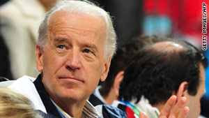 U.S. Vice President Joe Biden was attending the Olympic opening ceremony when the incident occurred.