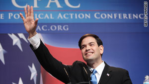 Former Florida House speaker Marco Rubio was a winner at the CPAC meeting, says CNN's  Mark Preston.