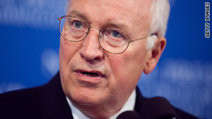 Former Vice President Dick Cheney, 69, had lunch Tuesday with family members at a Washington hospital, sources say.