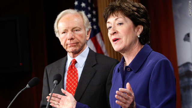 Sens. Joseph Lieberman and Susan Collins call the hiring situation at the Department of Homeland Security &quot;unacceptable.&quot;