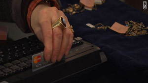 Swipe fees charged when customers use certain credit cards add up for small business owners.