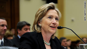 U.S. Secretary of State Hillary Clinton is expected to talk with Brazil's president about his upcoming trip to Iran.