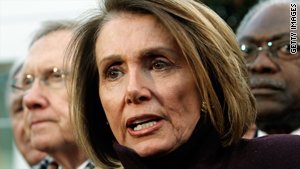 House Speaker Nancy Pelosi laid out tentative plans Friday for the next steps on health care.