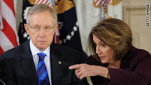 Senate Majority Leader Harry Reid and House Speaker Nancy Pelosi attended the bipartisan health summit last week.