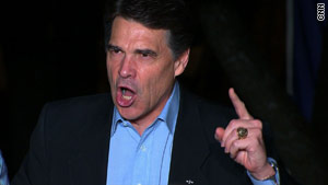 Rick Perry beat Sen. Kay Bailey Hutchinson in the Texas gubernatorial GOP primary.