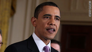 President Obama delivers remarks on health care reform on March 3.