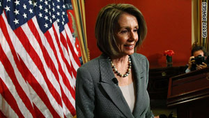 House Speaker Nancy Pelosi discusses health care reform at her weekly press conference on Thursday.