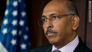 Republican National Committee chief Michael Steele condemns the document but won't discuss any disciplinary action.