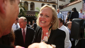 Republican gubernatorial candidate Meg Whitman is the target of a new user-controlled Web site.