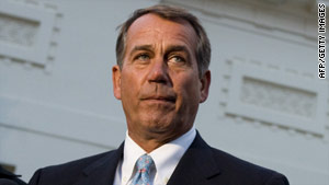 House Minority Leader John Boehner is calling for the Ethics Committee to continue its investigation of ex-Rep. Massa.