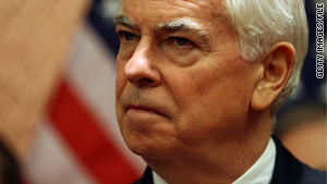 """""""The time is shrinking to get this done,"""" Sen. Chris Dodd says of Wall Street reform."""