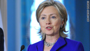 "Secretary of State Hillary Clinton said the bond between the United States and Israel is ""unshakable."""