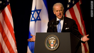 Vice President Joe Biden issued a strong statement while in Israel condemning the announcement about the settlements.