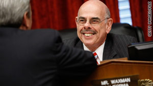 "Rep. Henry Waxman, D-California, calls the Congressional Budget Office estimates ""better than expected."""