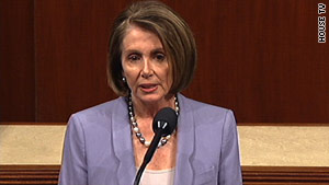 House Speaker Nancy Pelosi says the health care vote is personal to millions of Americans.