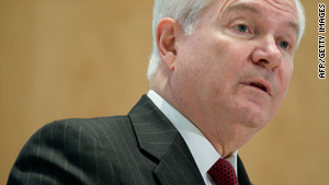 "Defense Secretary Robert Gates is expected to make an announcement on the ""don't ask, don't tell"" policy."