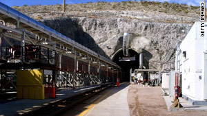 The Obama administration opposes storing nuclear waste at Nevada's Yucca Mountain site.