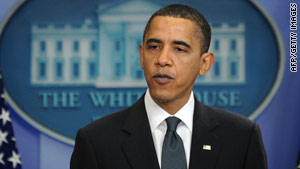 President Obama says Republicans blocked his appointments to score political points.