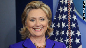 Secretary of State Hillary Clinton heads to Canada on Monday.