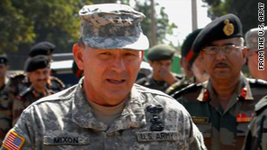 "Lt. Gen. Benjamin Mixon is under fire for comments opposing President Obama's decision to repeal ""don't ask, don't tell."""